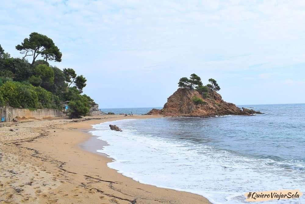 Viajar sola a la Costa Brava, Platja d'Aro