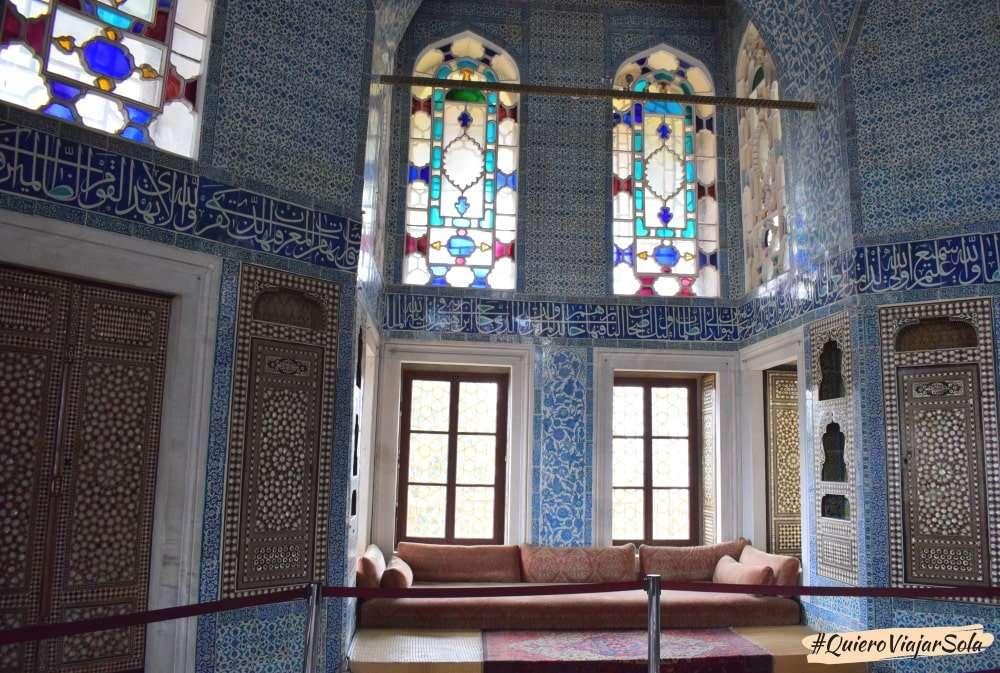 Visitar el Palacio de Topkapi, pabellón