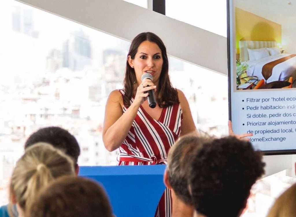 Estela Gómez, blogger de viajes - KLMVuelaSostenible