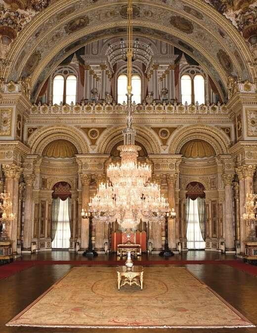 Palacio de Dolmabahçe, sala de fiestas