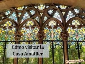 Visitar la Casa Amatller
