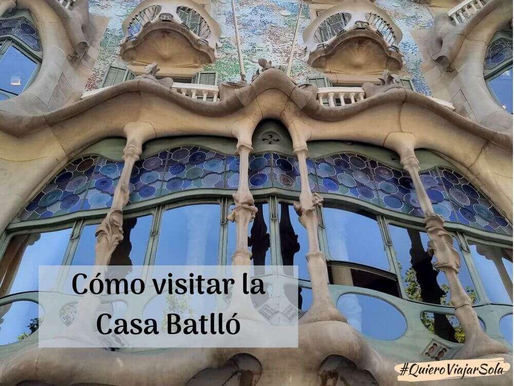 Cómo visitar la Casa Batlló, una joya de Gaudí en Barcelona