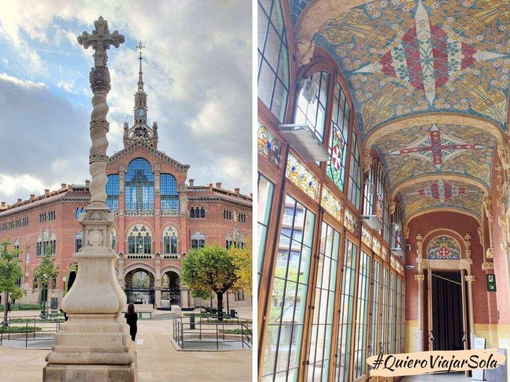 Visitar Sant Pau, detalles