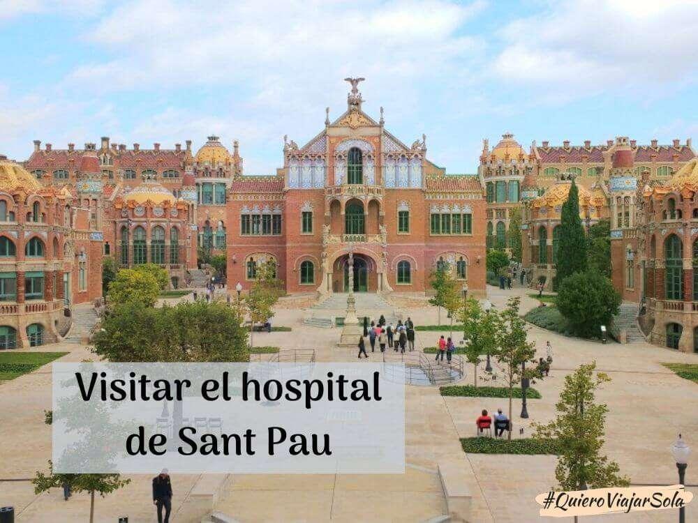Cómo visitar Sant Pau, el antiguo hospital Modernista de Barcelona
