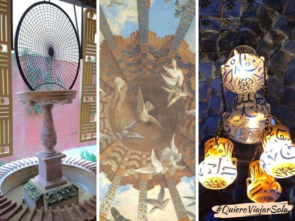 Visitar la Casa Vicens, decoración