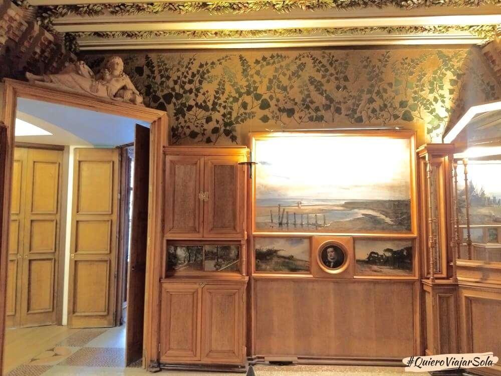 Visitar la Casa Vicens, salón