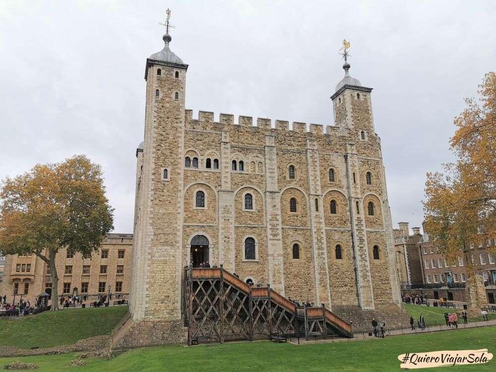 Visitar la Torre de Londres, Torre Blanca