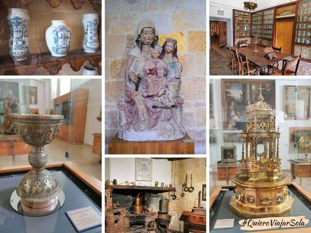 Monasterio de Santo Domingo de Silos, botica y museo