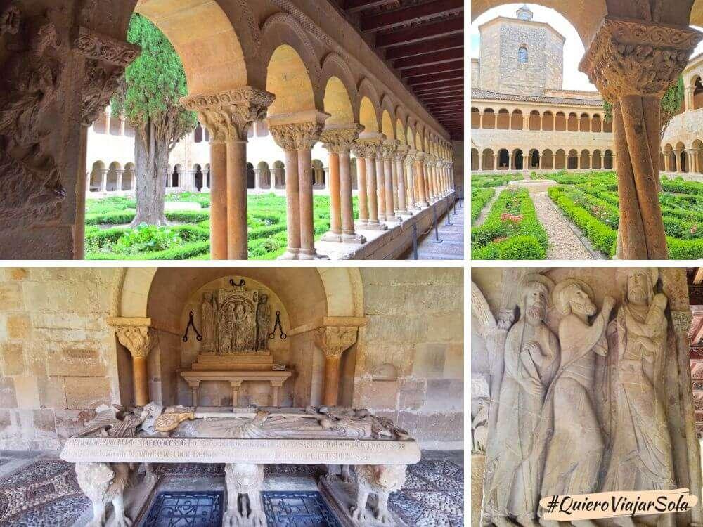 Monasterio de Santo Domingo de Silos, claustro románico