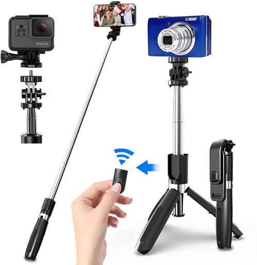 palo selfie trípode