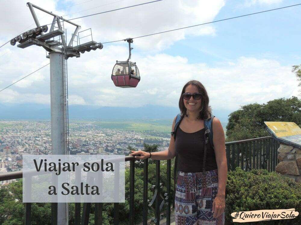 Viajar sola a Salta