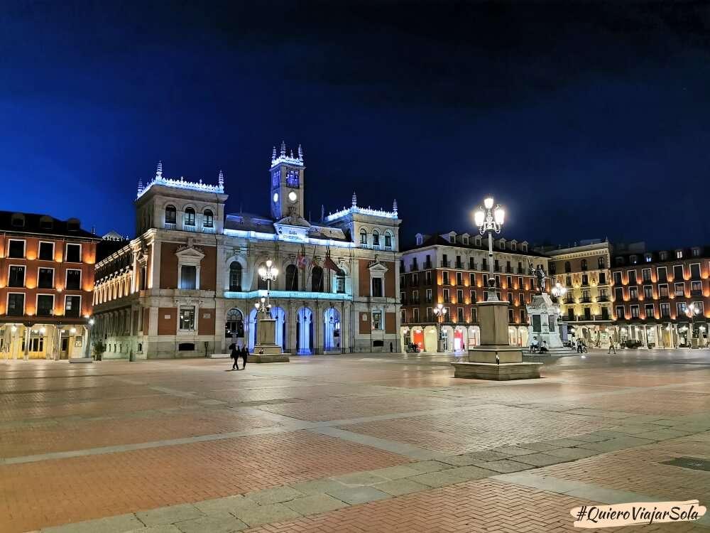 Viajar sola a Valladolid, Plaza Mayor