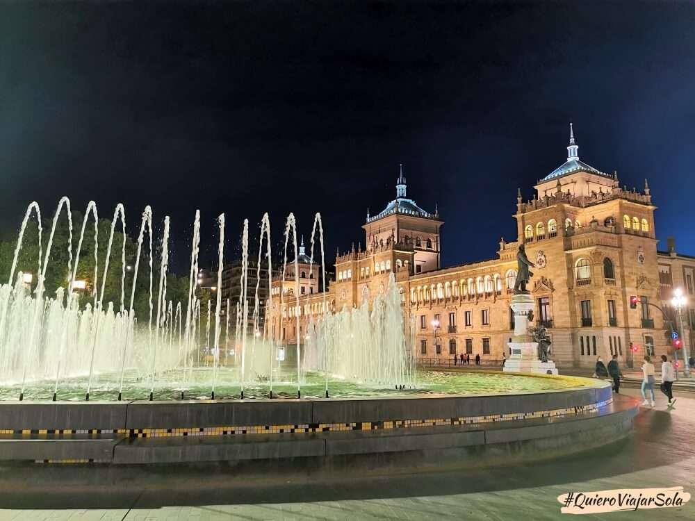 Viajar sola a Valladolid, Plaza Zorrilla