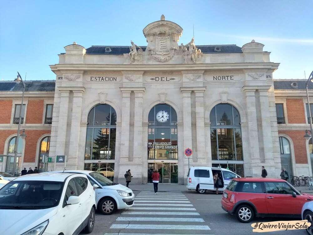 Viajar sola a Valladolid, tren