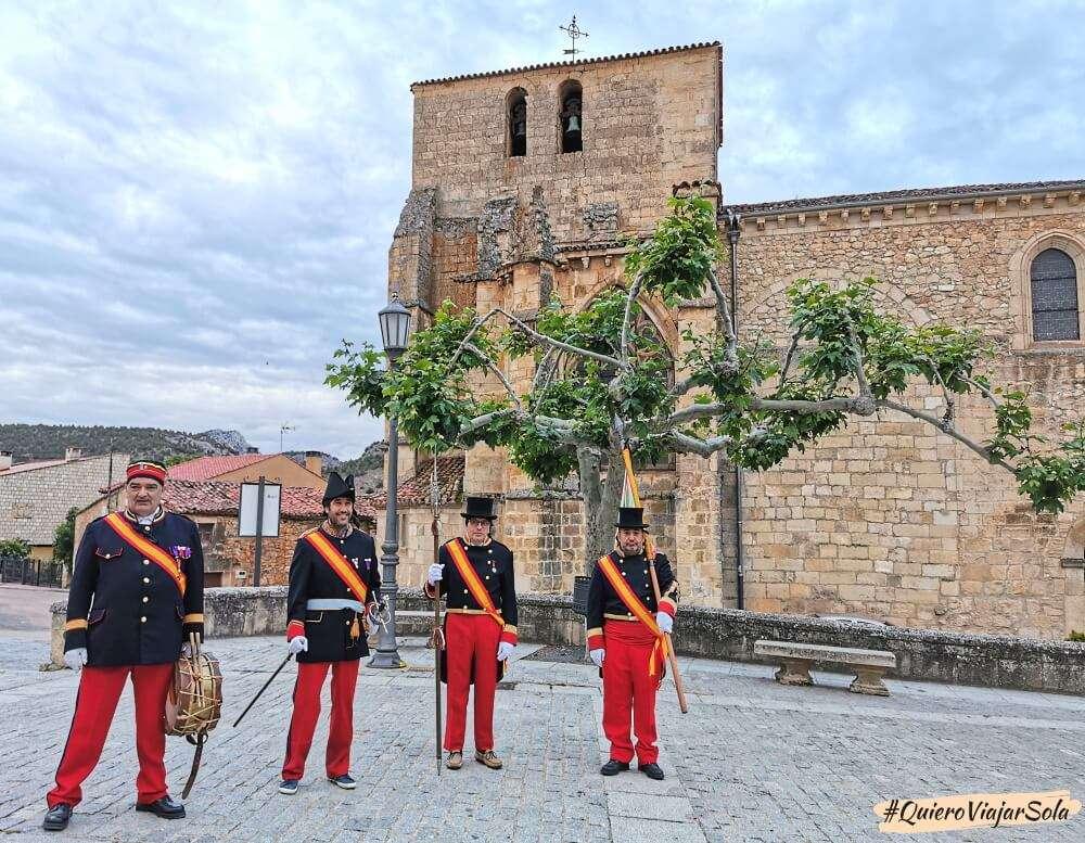 Visitar Santo Domingo de Silos, Fiesta de los Jefes