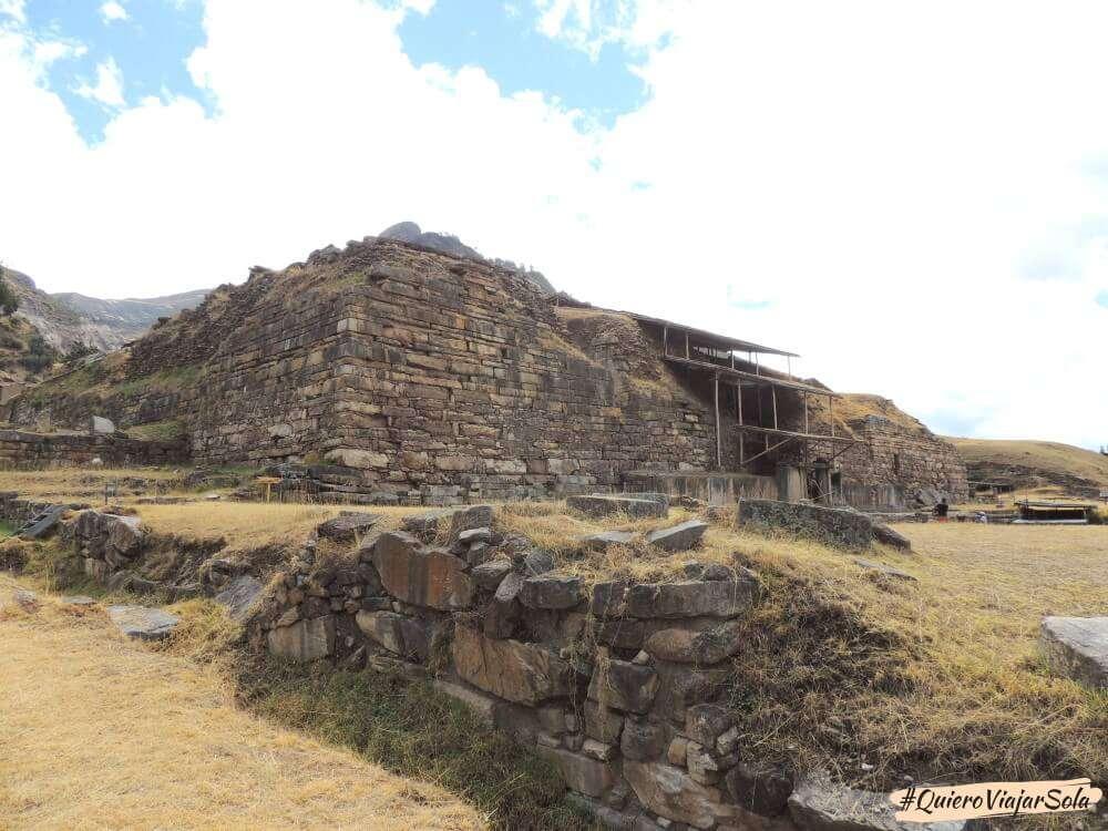 Chavín de Huántar, Templo Nuevo