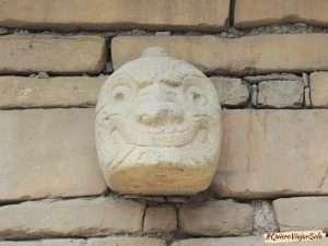 Chavín de Huántar, cabeza clava
