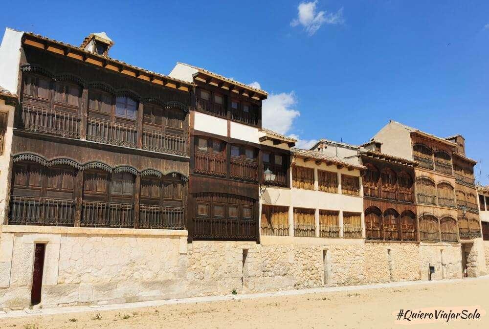 Excursión a Peñafiel, Plaza del Coso