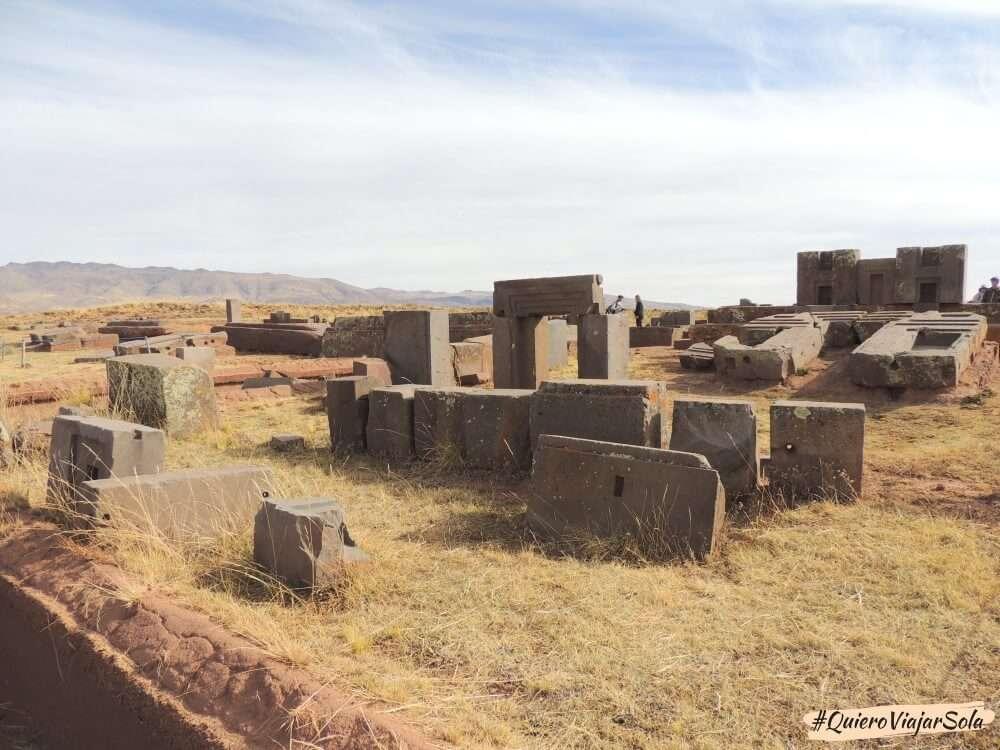 Excursión a Tiwanaku, Pumapunku