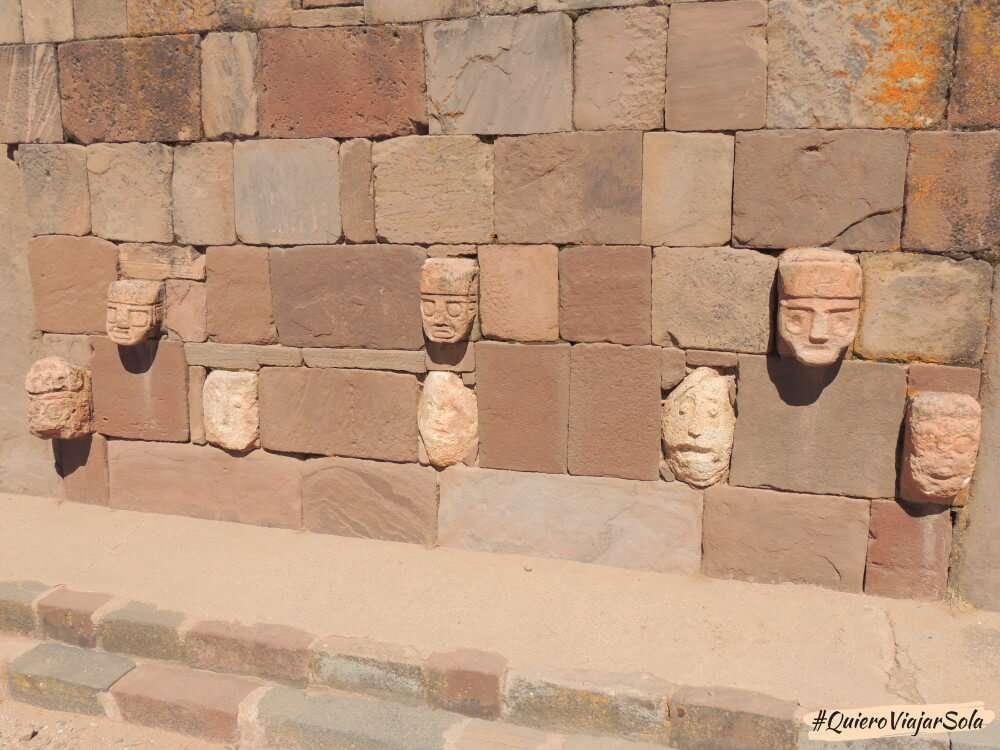 Excursión a Tiwanaku, templo semisubterráneo
