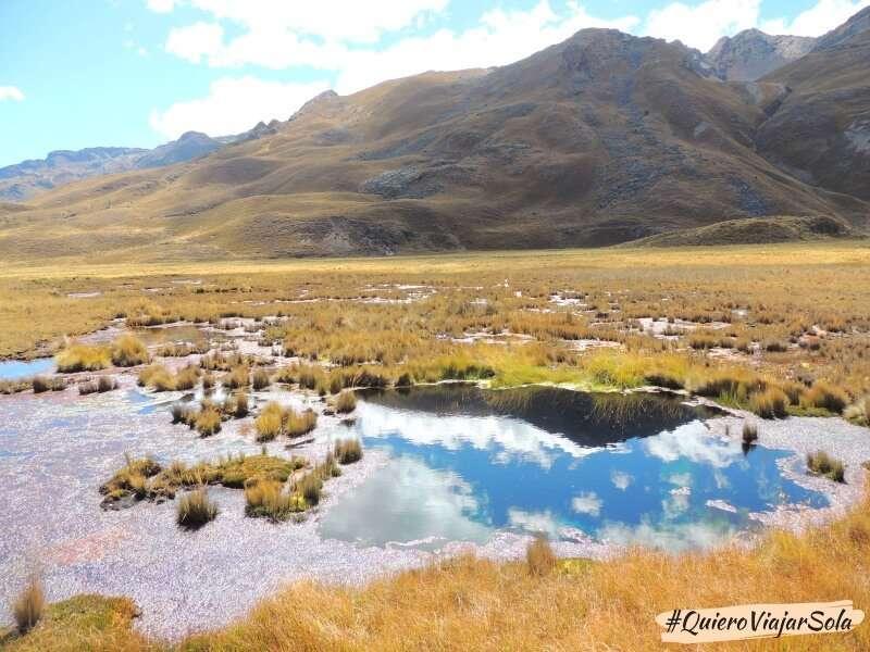 Ir al glaciar Pastoruri, Pumapampa