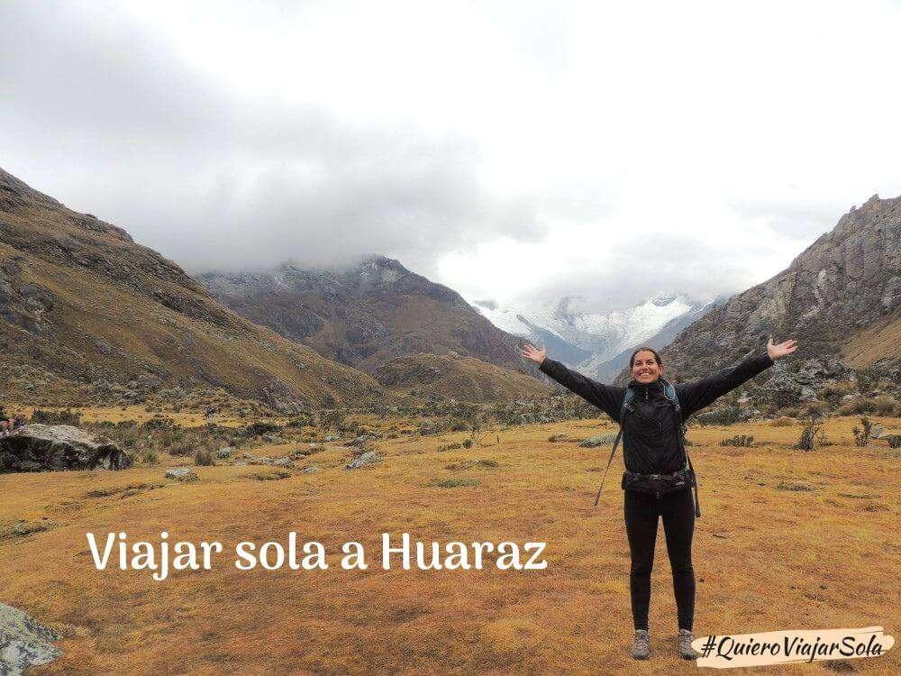 Viajar sola a Huaraz