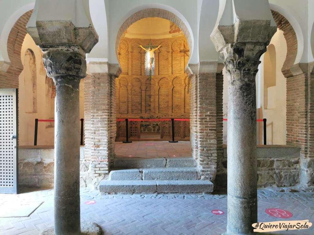 Viajar sola a Toledo, Mezquita del Cristo de la Luz