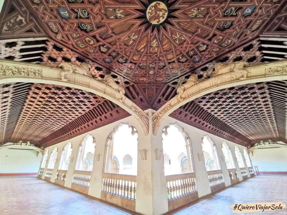 Viajar sola a Toledo, Monasterio de San Juan de los Reyes