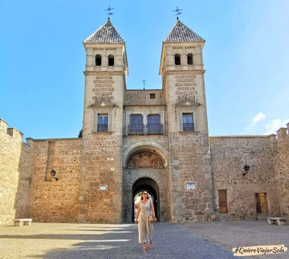 Viajar sola a Toledo, Puerta Nueva de Bisagra