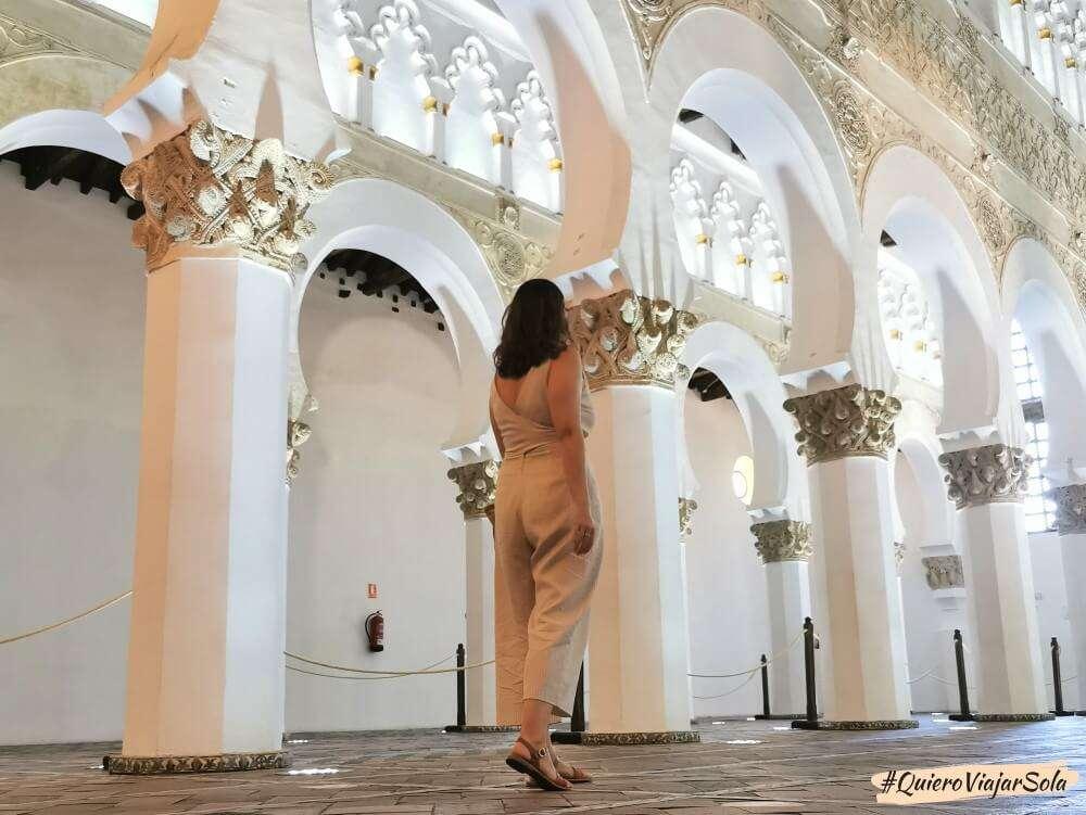 Viajar sola a Toledo, Sinagoga de Santa María la Blanca