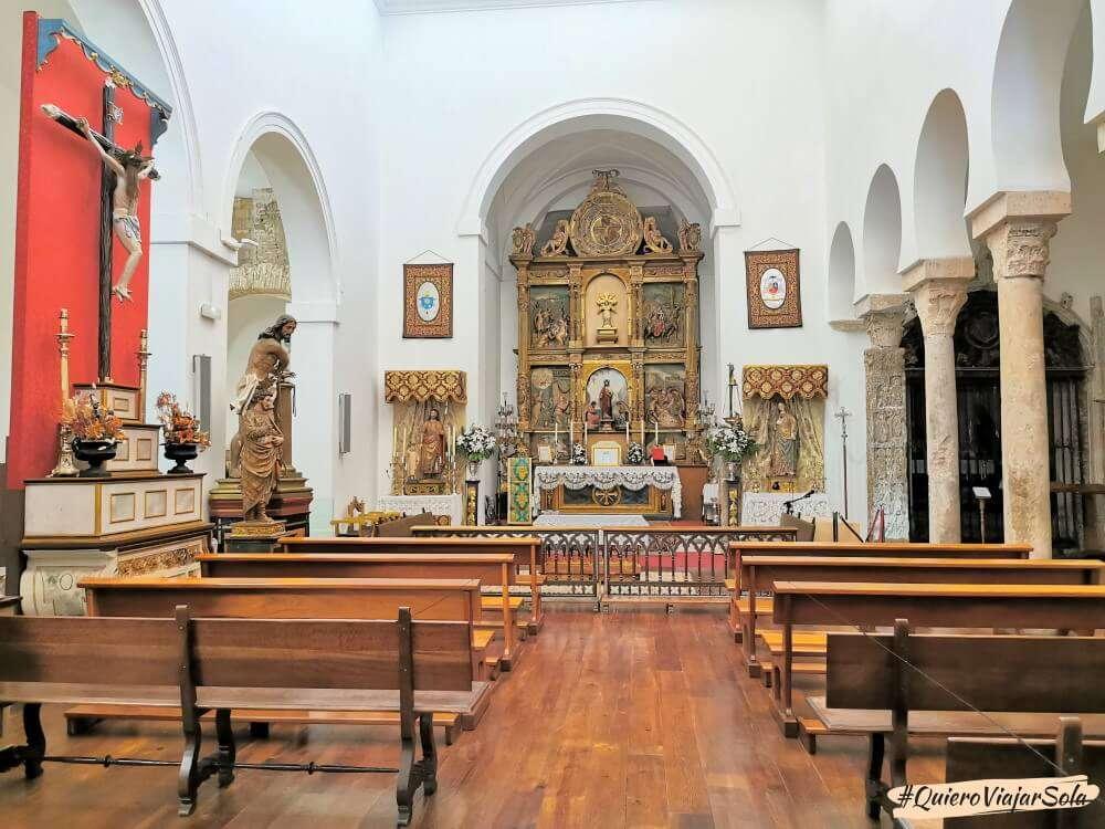 Viajar sola a Toledo, iglesia del Salvador