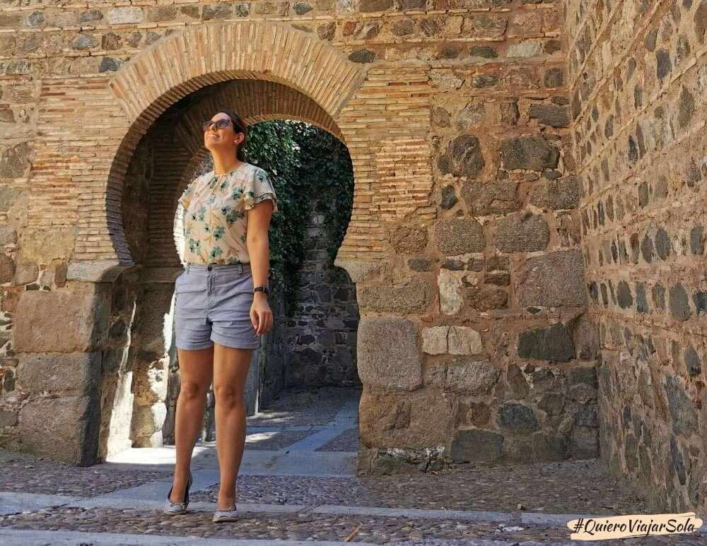 Viajar sola a Toledo, muralla