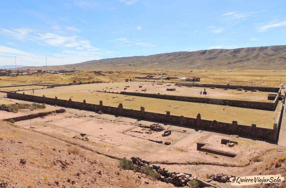 Vista de Tiwanaku