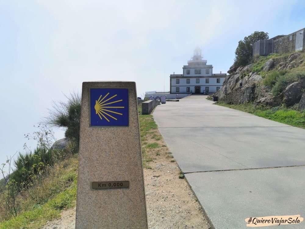 Camino de Finisterre, Kilómetro 0