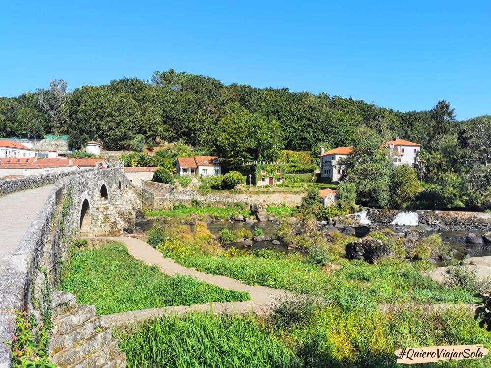 Camino de Finisterre, Ponte Maceira