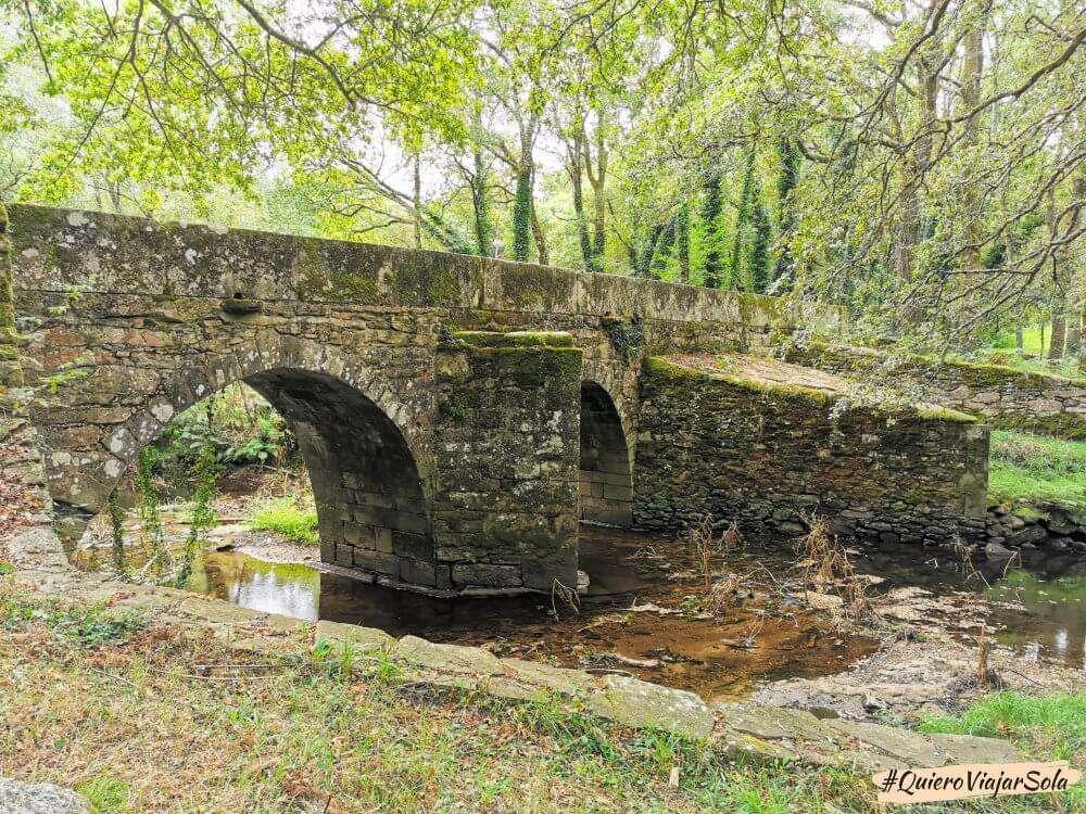 Camino del Norte, puente