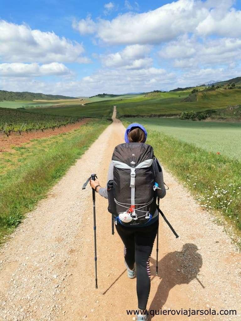 Hacer el Camino de Santiago sola, caminando