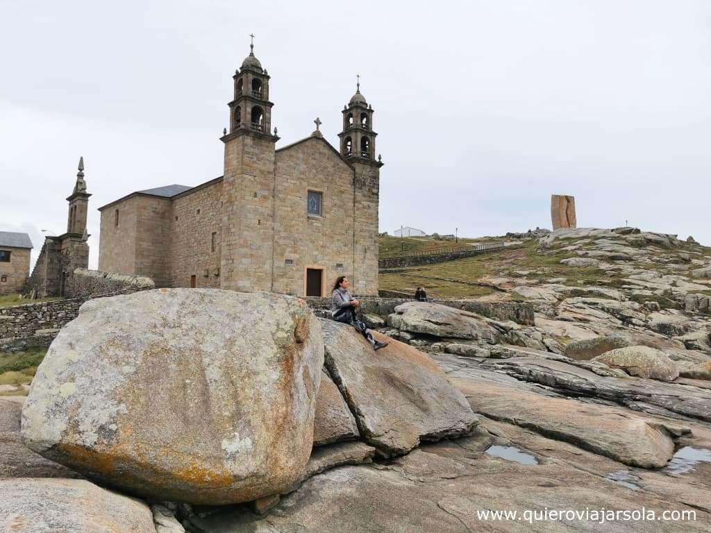 Camino de Finisterre y Muxía, Santuario de la Virgen de la Barca