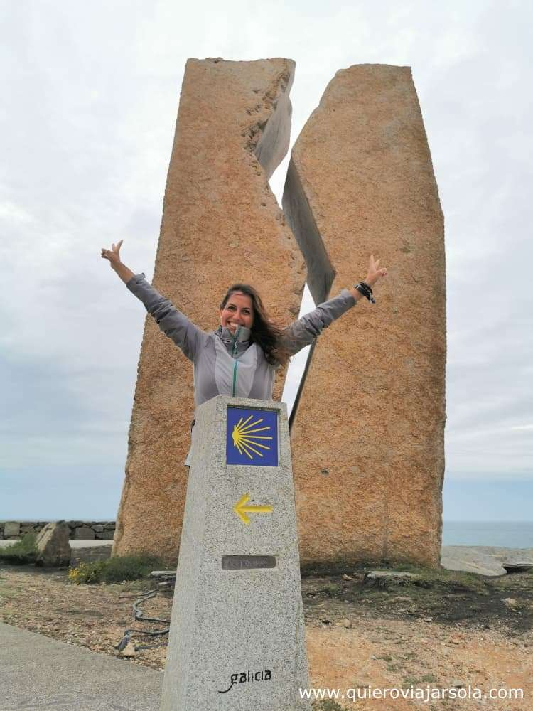 Camino de Finisterre y Muxía, kilómetro 0 Muxía
