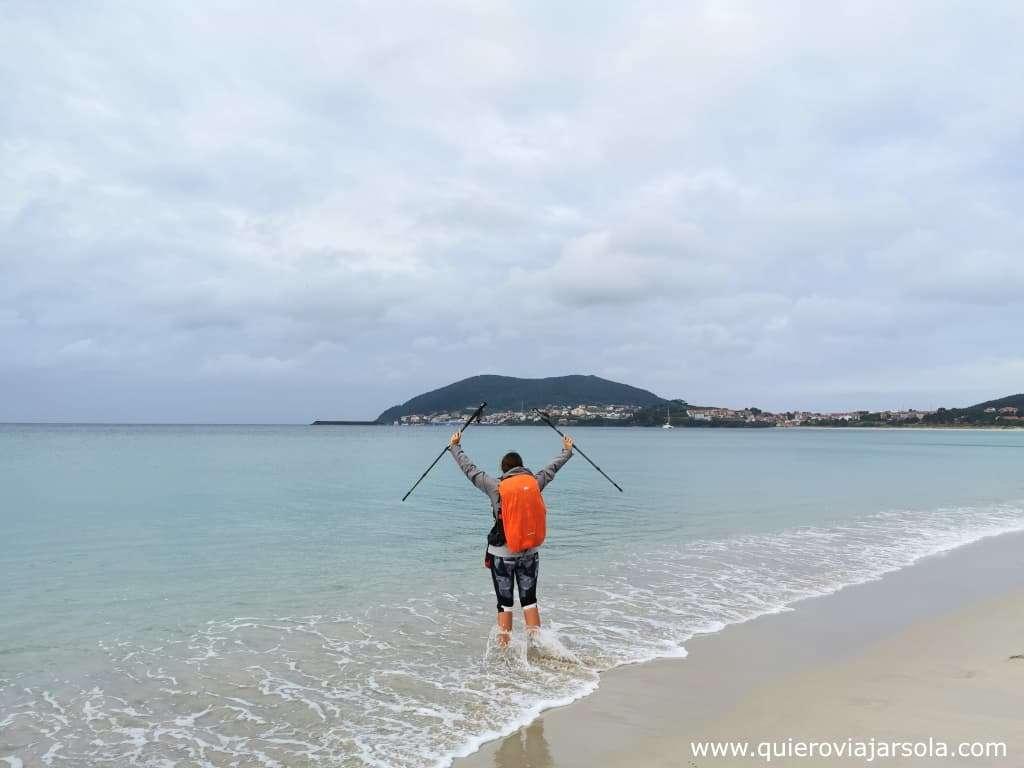 Camino de Finisterre y Muxía, playa de Langosteira