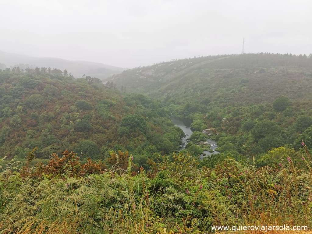 Camino de Finisterre y Muxía, subida O Logoso
