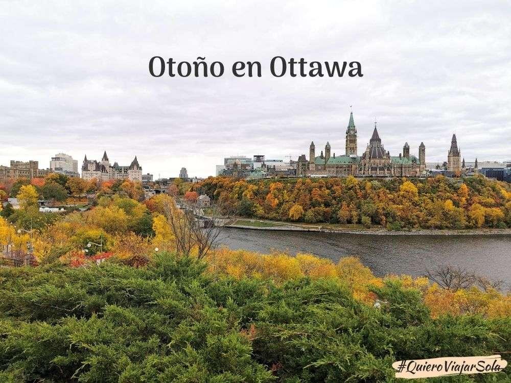 Otoño en Ottawa
