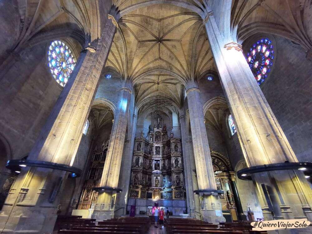 Que hacer en San Sebastián, iglesia de San Vicente