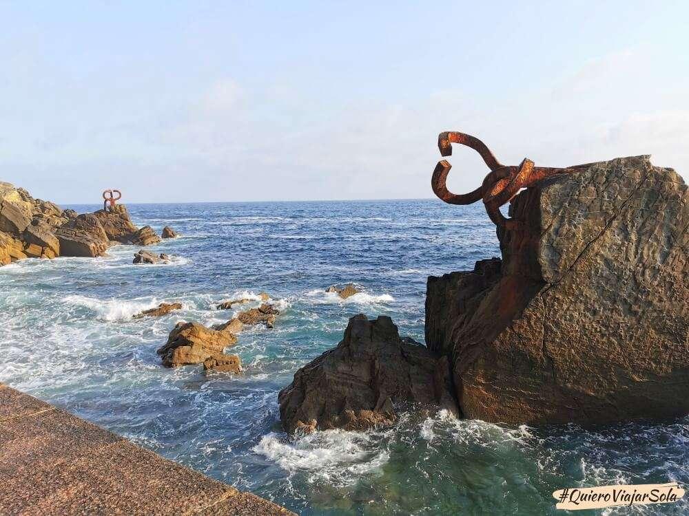 Que hacer en San Sebastián, Peine del Viento