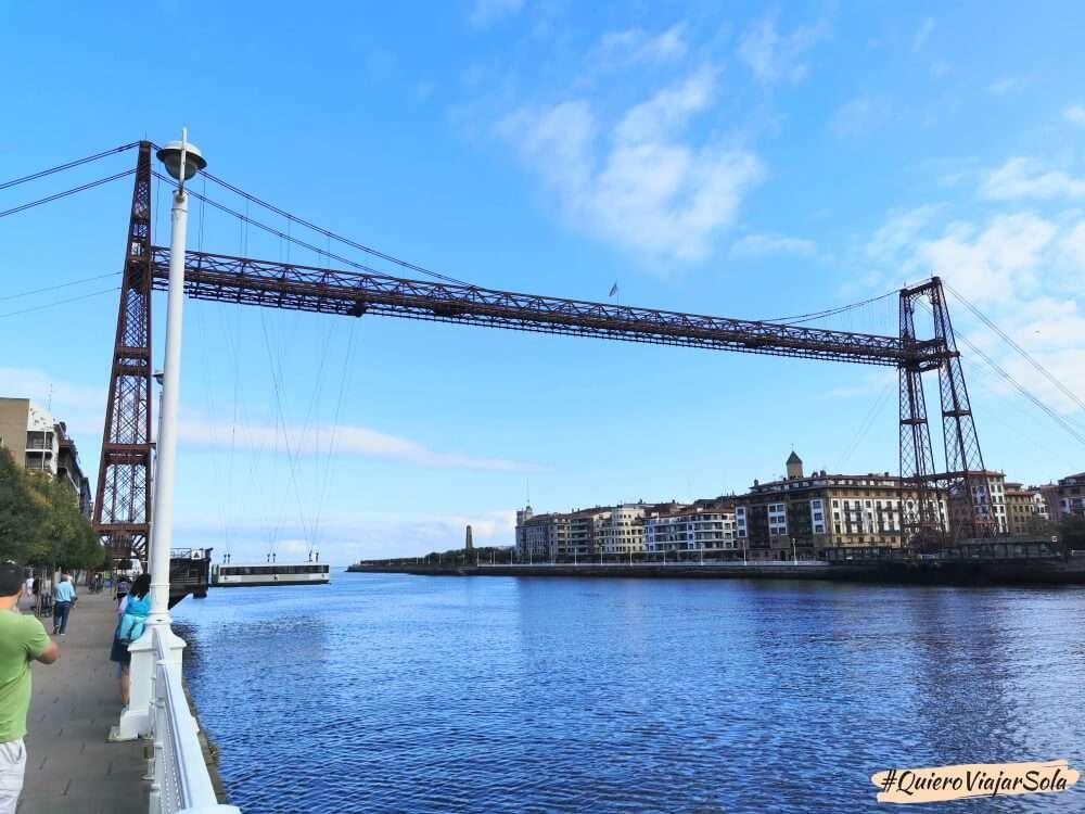 Qué ver en Bilbao, Puente Vizcaya