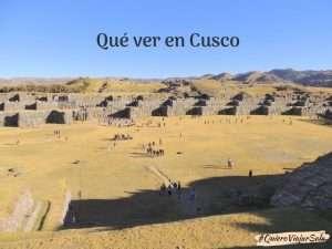 Que ver en Cusco