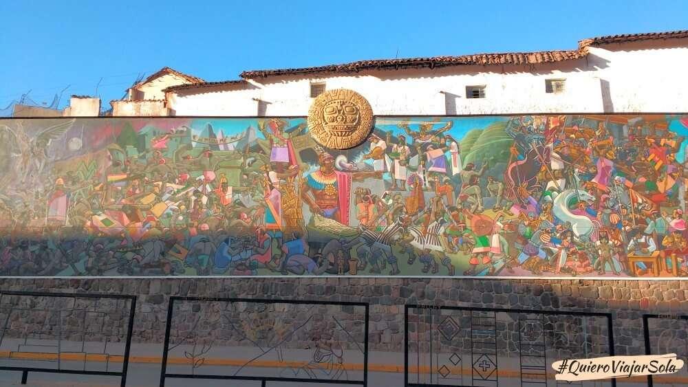 Que ver en Cusco, mural