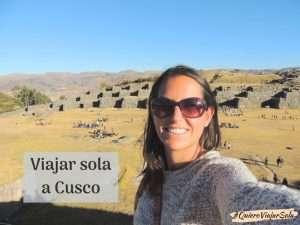 Viajar sola a Cusco