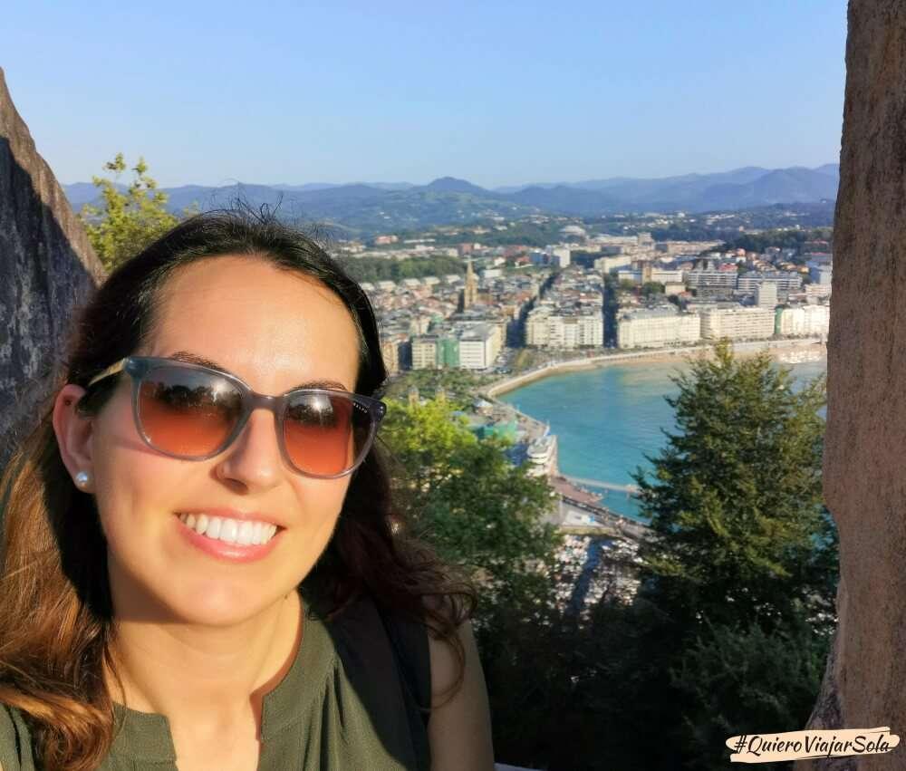 Viajar sola a San Sebastián, Monte Urgull