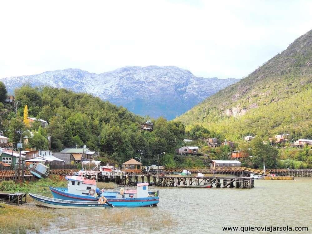 Caleta Tortel, pueblo
